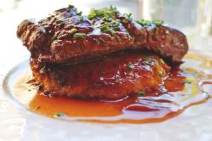 Steak -Dampfbackofen