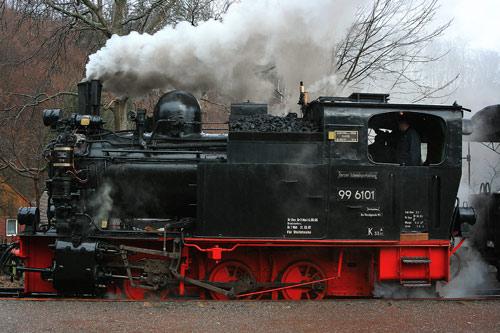99 6101 - Heeresfeldbahnlok der Harzer Schmalspur Bahnen