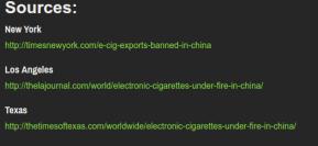 [APRILSCHERZ] Chinesische Ezigaretten Produktion wird eingestellt.
