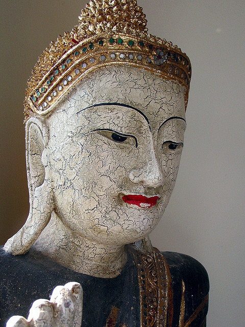 A statue of the Buddha from Thailand. Photograph by Tom Sparks via Flickr