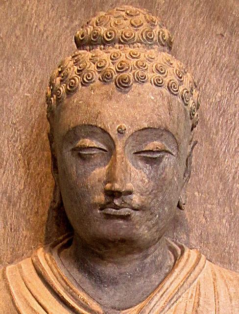 A Gandhara Buddha Statue. Photograph by Akuppa John Wigham via Flickr