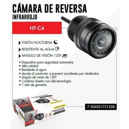 CÁMARA DE REVERSA HF AUDIO HF-C4