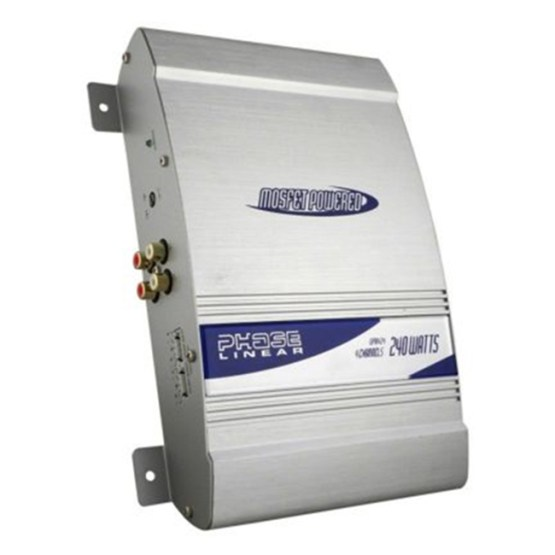 Amplificador Jensen UPA424CS 4 canales 240w 4 Ohms. Una excelente opción para mejorar el sonido de nuestro auto y mejorar ese sistema de agencia con el que cuenta nuestro auto. Es compatible con autoestéreos de agencia.
