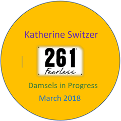 Katherine Switzer button single