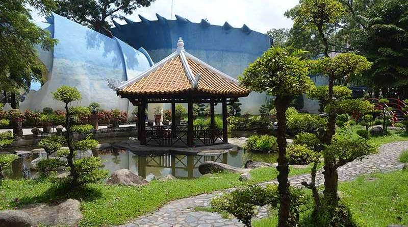 Vườn Nhật Bản, Vườn Nhật Bản, Đầm Sen