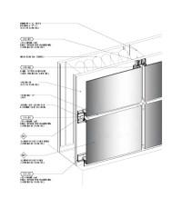 Exterior Cladding Panels (Rainscreen Plate Panel) Details