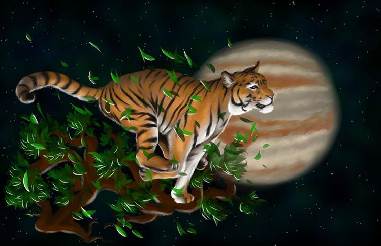 Китайски хороскоп - Тигърът и неговите партньори