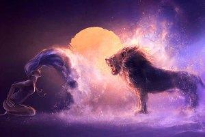 Жената Лъв - любовен хороскоп