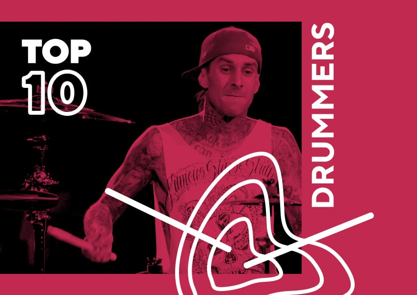 The top ten drummers of all time
