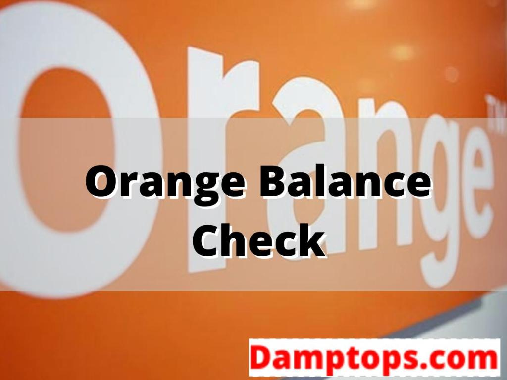 orange credit check, orange recharge code, orange top up voucher, how to check orange number