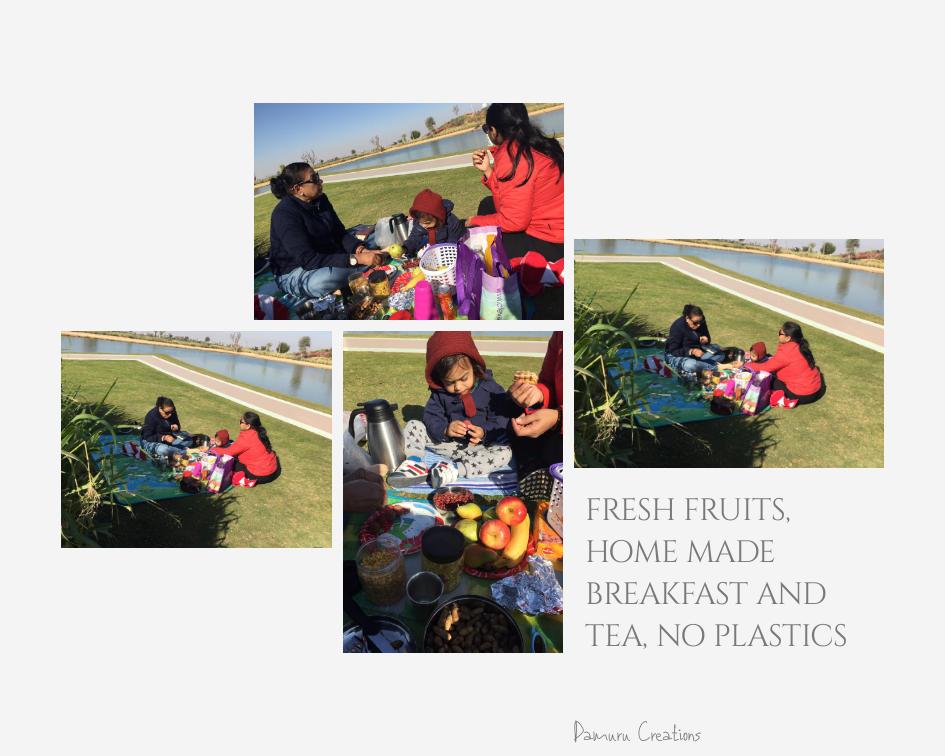 family picnic at love lake