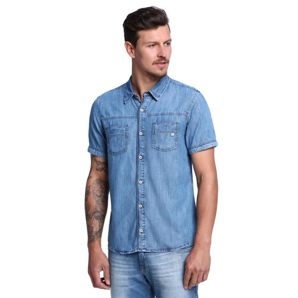 20+ Camisa Masculina Jeans Rasgada Pictures and Ideas on Meta Networks 8e958a07dccf5