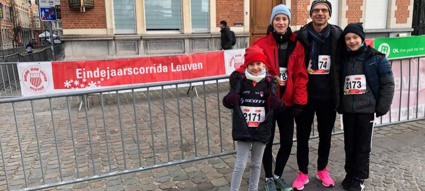 Eindejaarscorrida – met de familie doorheen Leuven