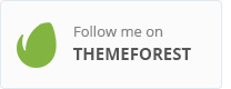 Follow me on Themeforest