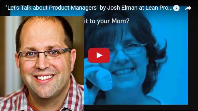 Lean Product Josh Elman
