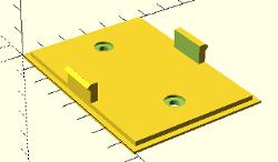 temp-hum sensor wall plate