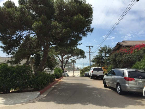 Fifth St path to Moonlight Beach