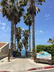 Grandview beach entrance