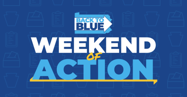 Join us for our weekend of action!