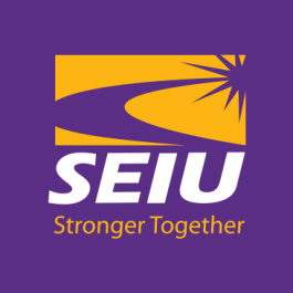 Endorsed by the Service Employees International Union