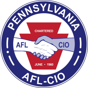 Endorsed by the Pennsylvania AFL-CIO!