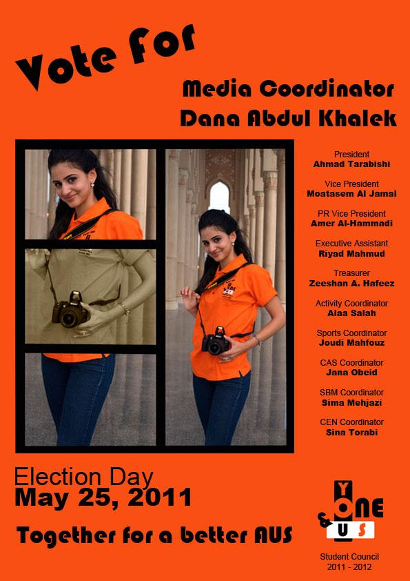 Student Council Individual Poster  danaabdulkhalek