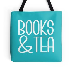 Dana and the Books Shop - Books & Tea Tote Bag