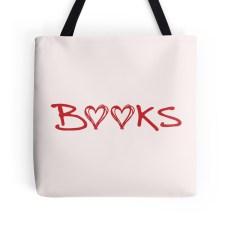 Dana and the Books Shop - Book Hearts