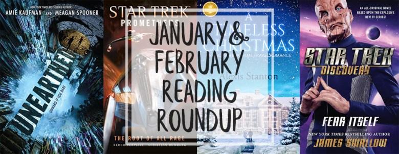 Jan Feb 2019 reading roundup