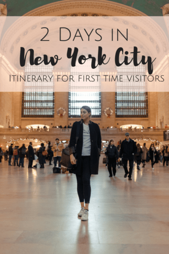 How to See NYC in 2 Days