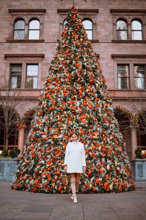 lotte new york palace christmas