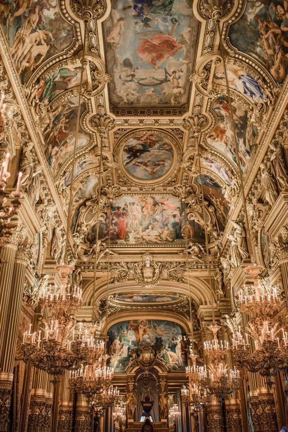 Blogger's travel guide to Paris | Top things to do and see in Paris France | Paris Photography Inspiration | Dana Berez Travel Guide Palais Garnier Paris Photogprahy