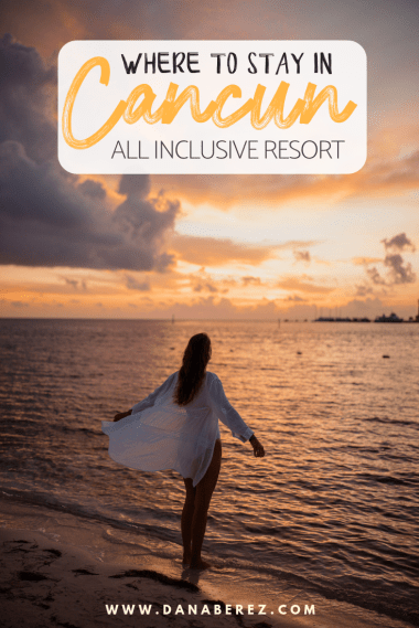Where to Stay in Cancun: Occidental Costa Cancun Mexico All Inclusive Resort | Dana Berez Travel Guide
