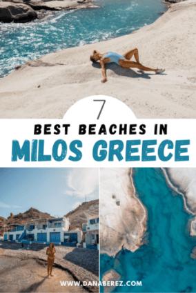 best beaches in milos