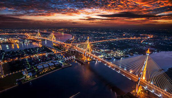 Thailand has fantastic infrasture