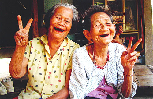Thailand really is the Land of Smiles!