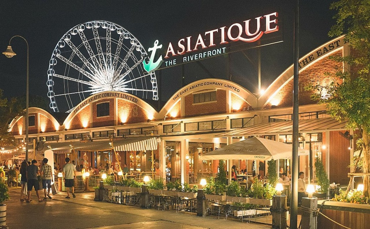 The Asiatique is well worth a visit