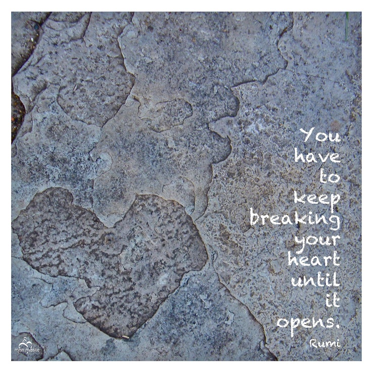 love rumi breaking heart