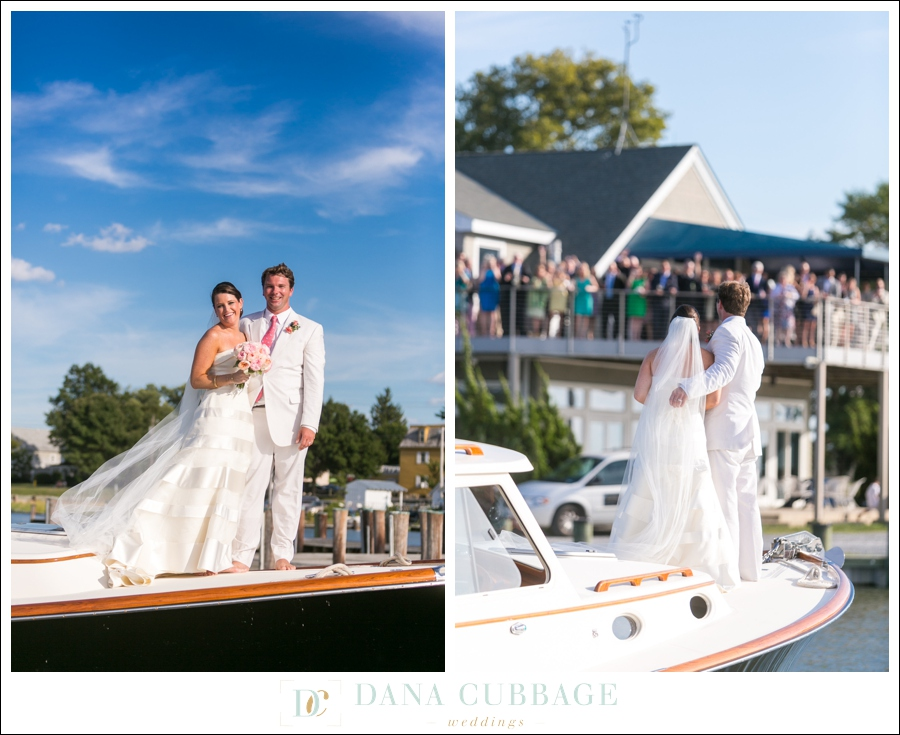 Bridget Dan Oxford Maryland Yacht Club Wedding Dana