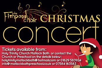 Fishpond Choir Christmas Concert Flyer