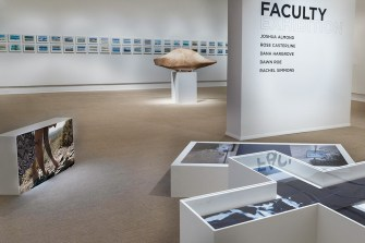 Installation view, Faculty Exhibition 2018