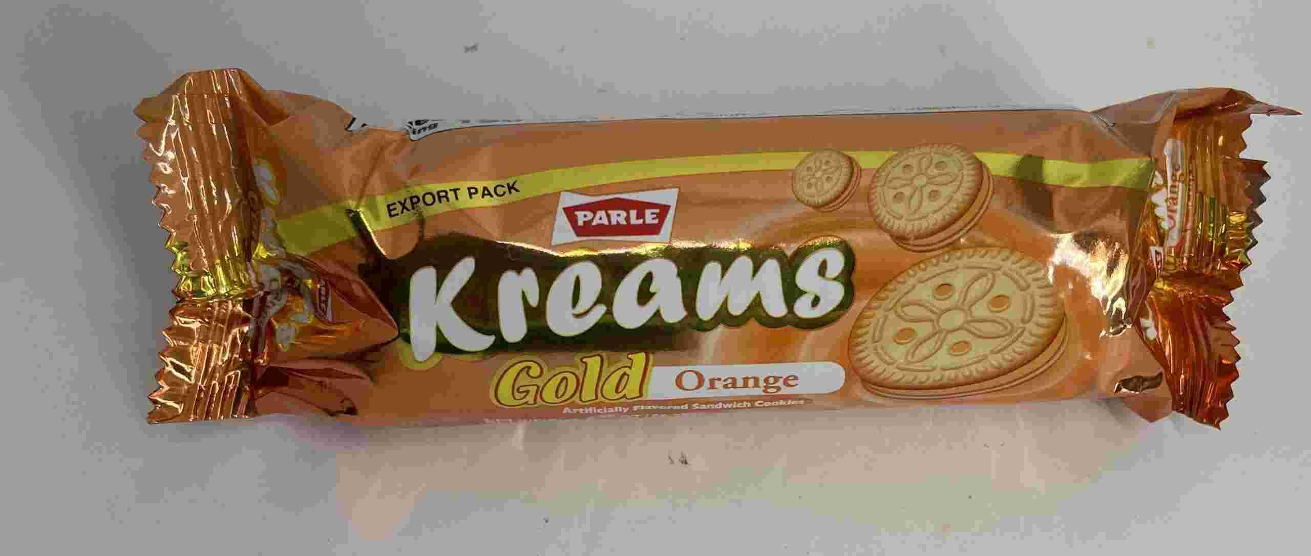 Parle Kreams Gold Orange