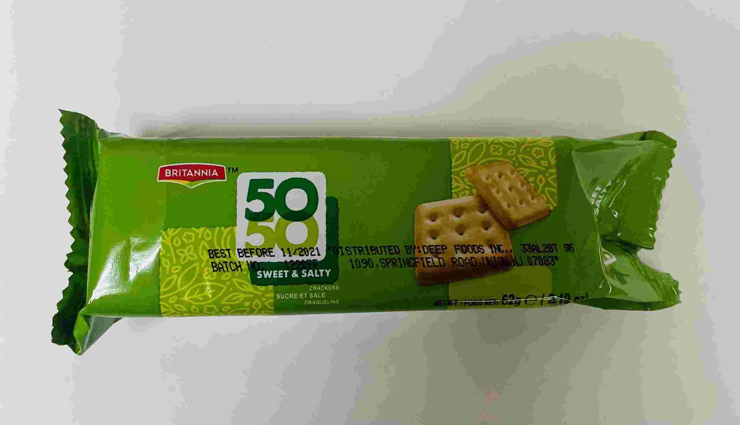 Britannia 50-50 Sweet And Salty