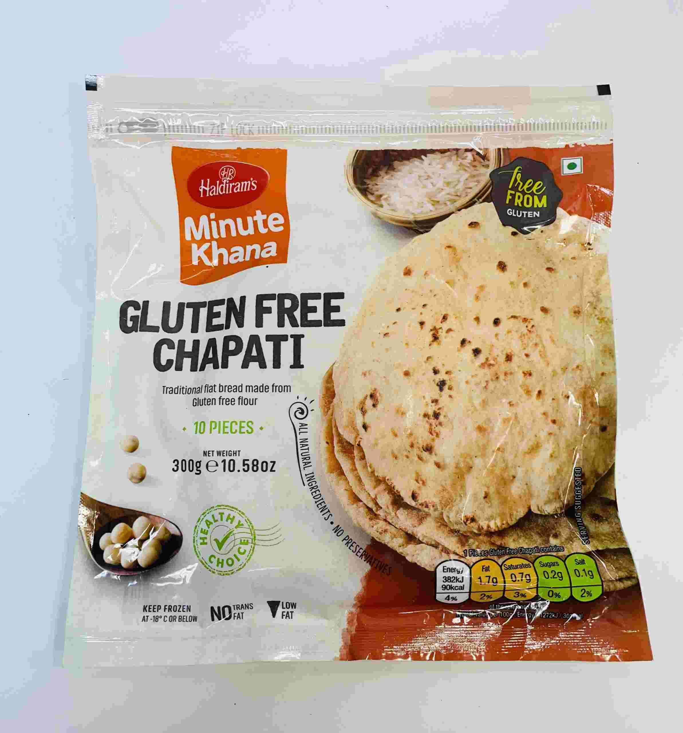 Haldiram's Gluten Free Chapati  10 Pieces