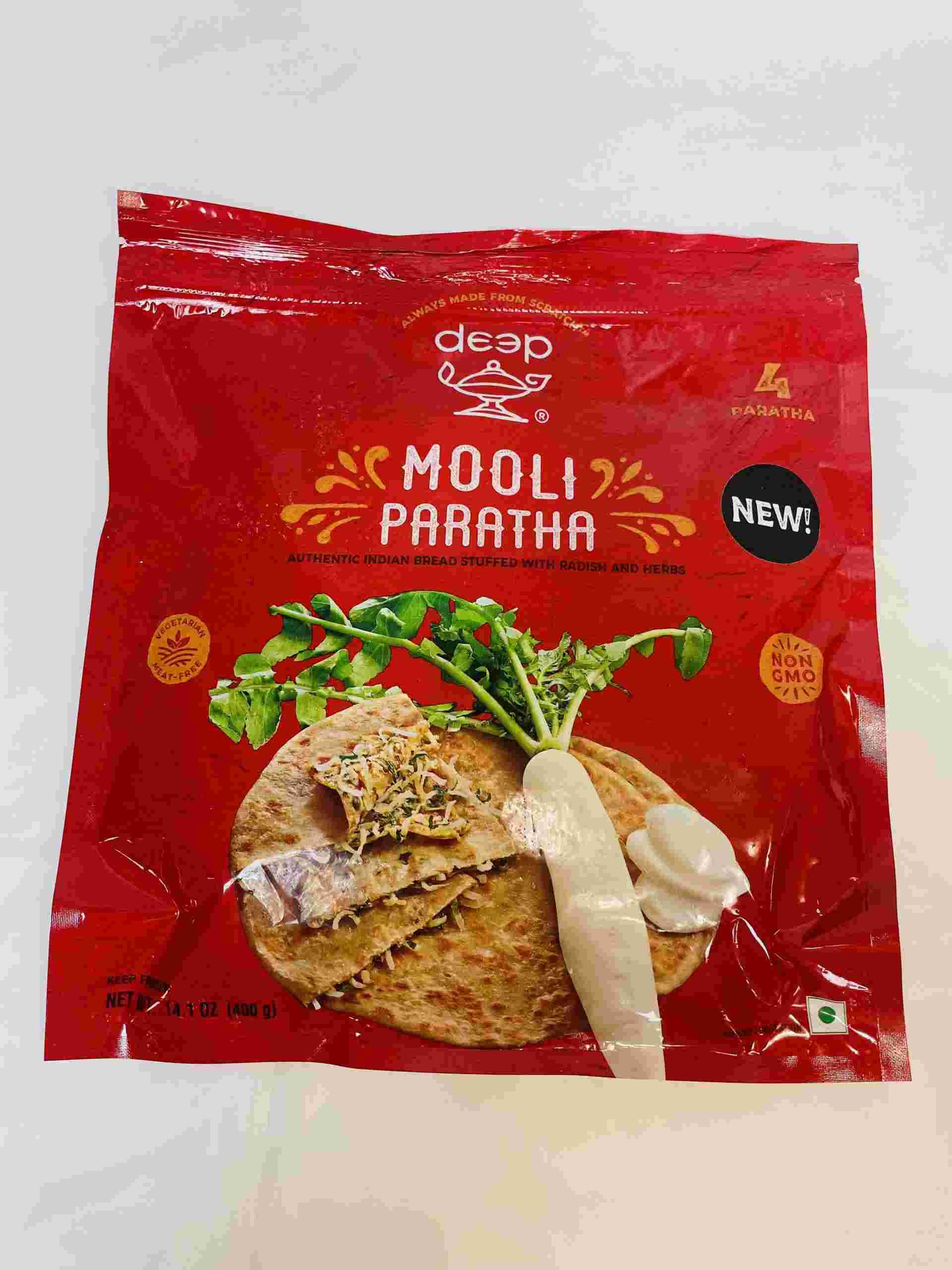 Deep  Mooli Paratha 4 Pieces