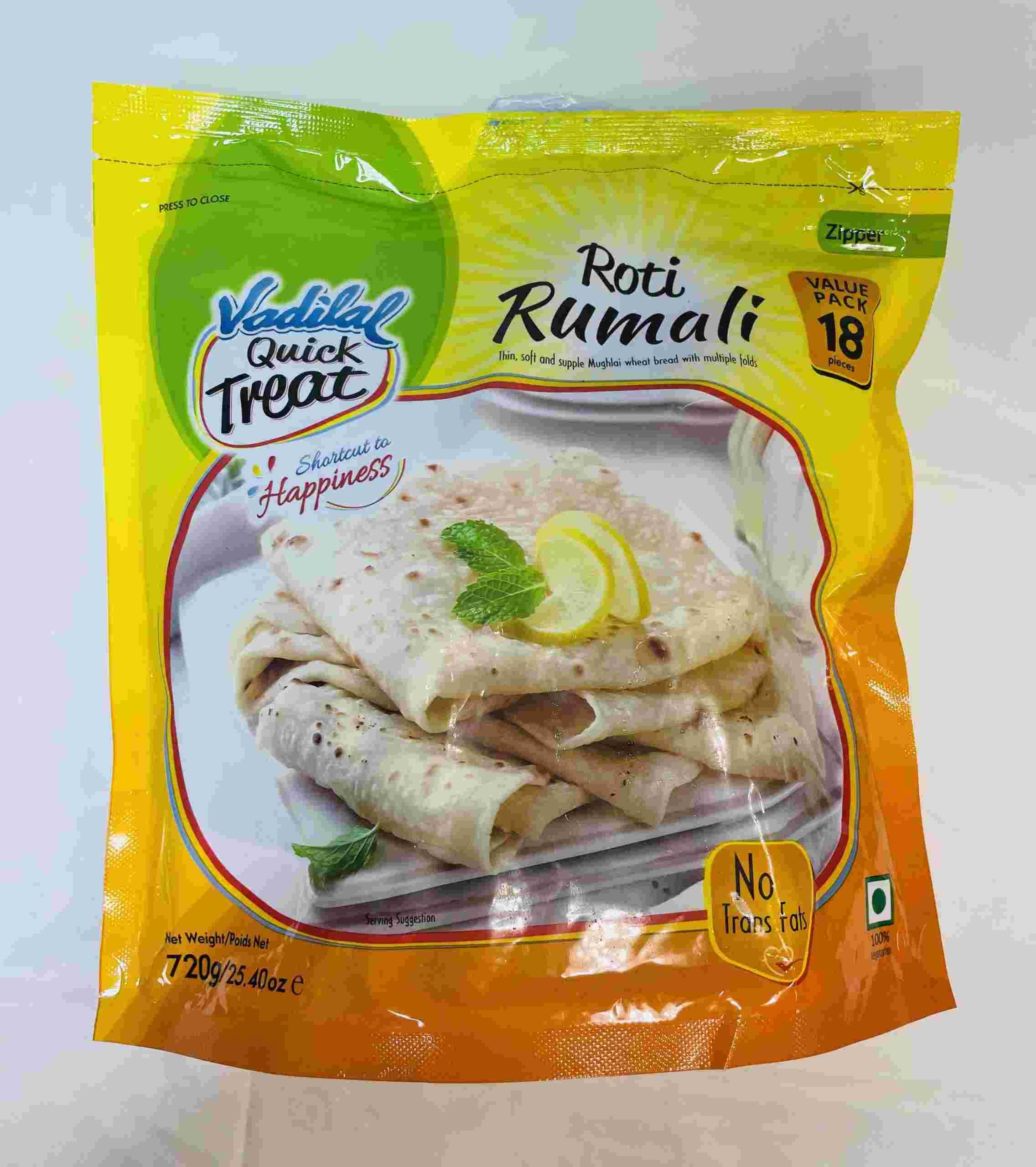 Vadilal Rumali Roti 18 Pieces Value Pack
