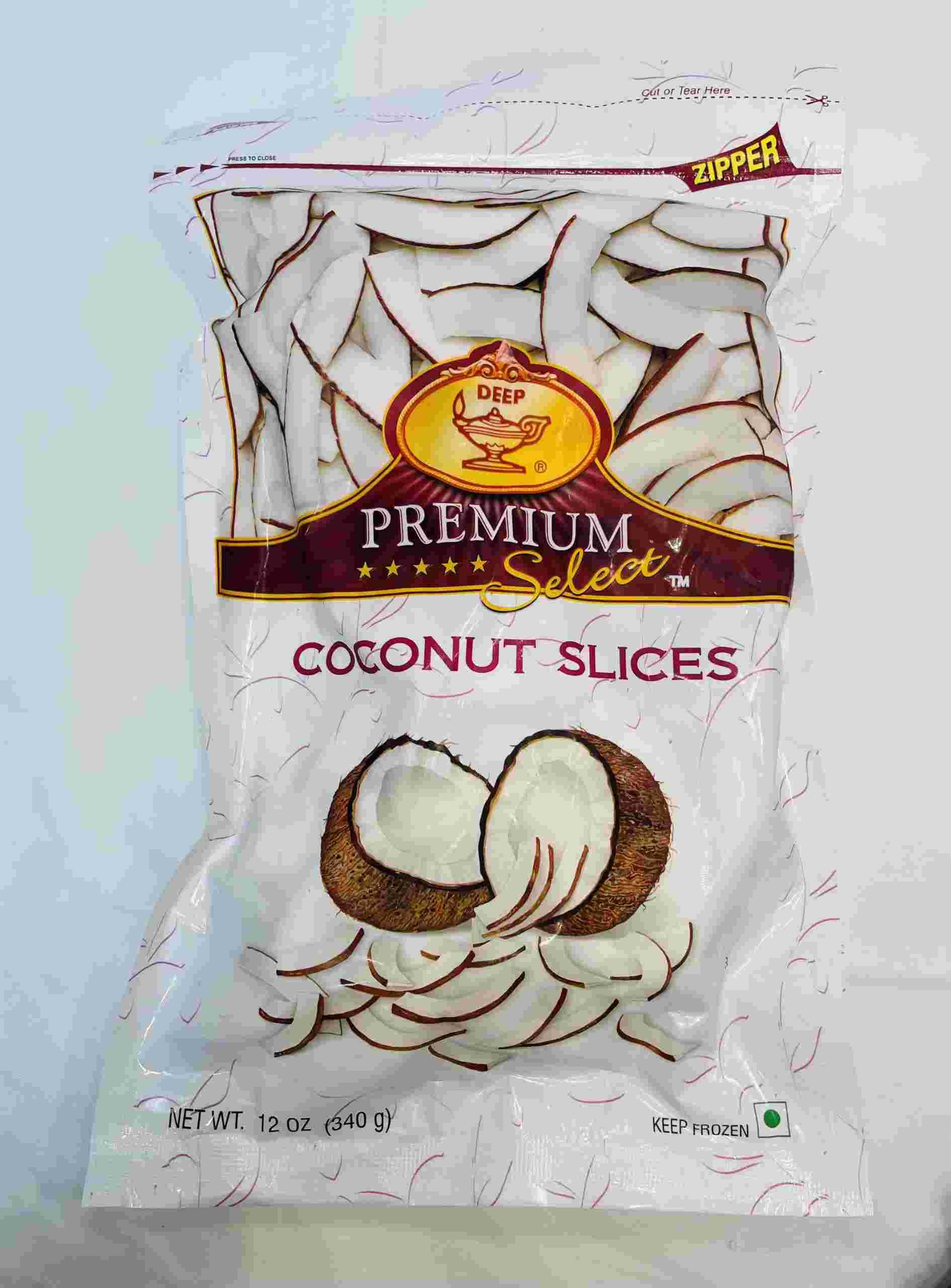 Deep  Deep Coconut Slices