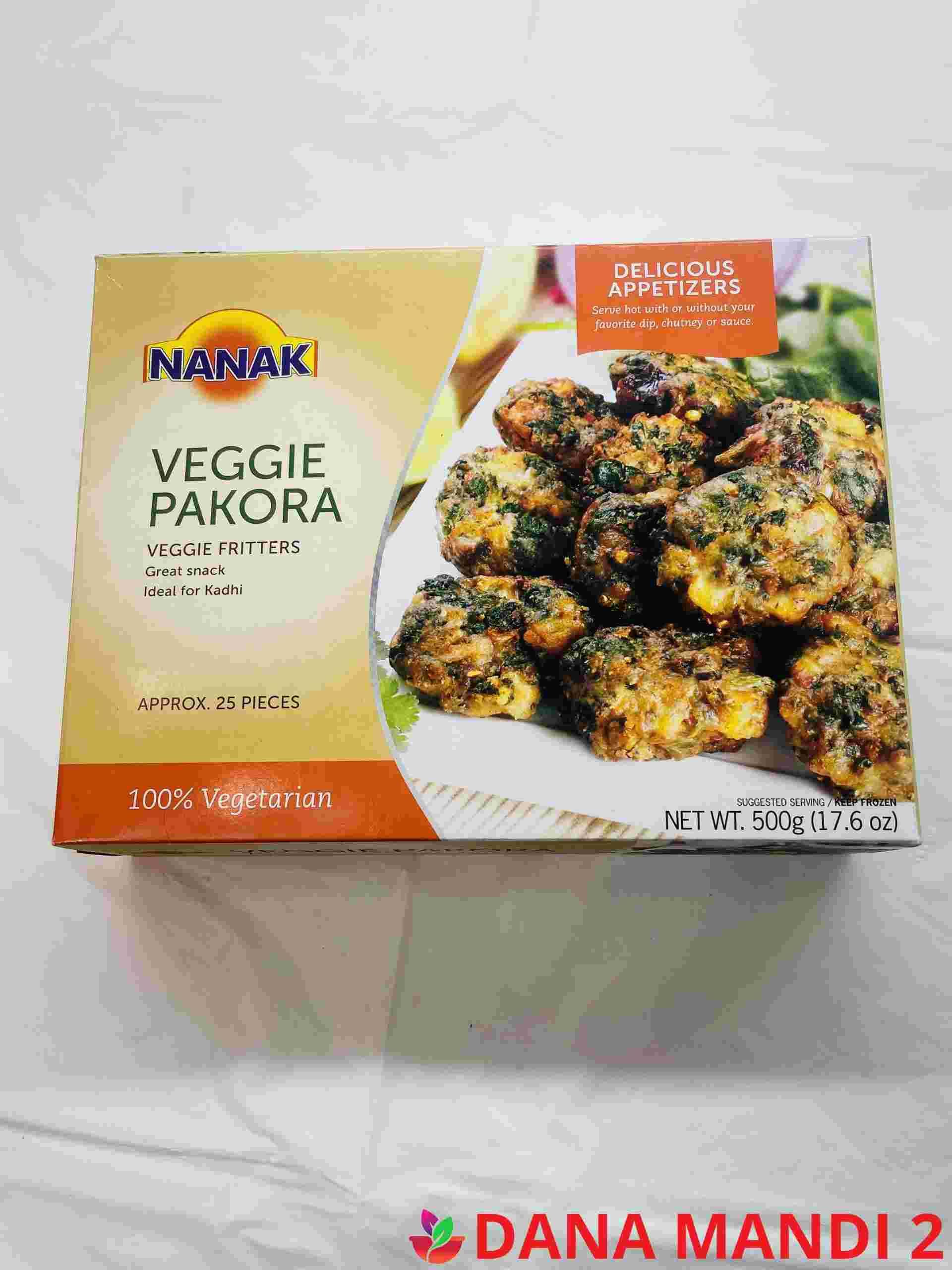 Nanak Veggie Pakora Approx 25 Pieces
