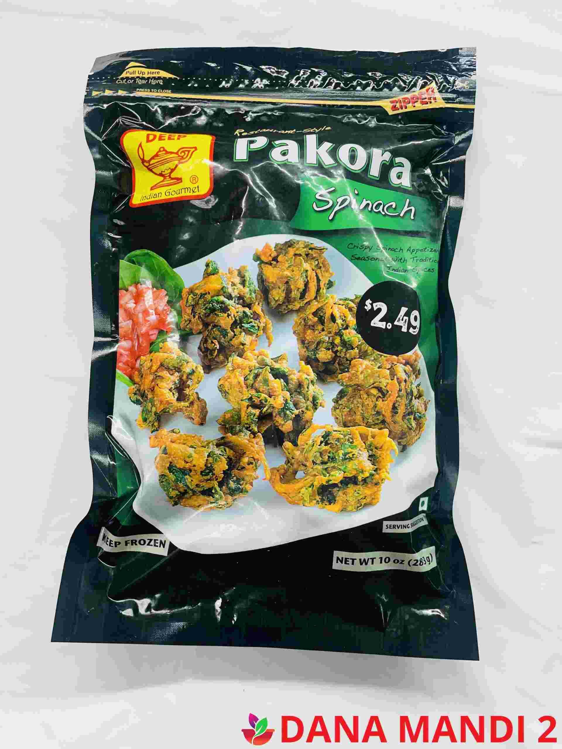 Deep  Spinach Pakora