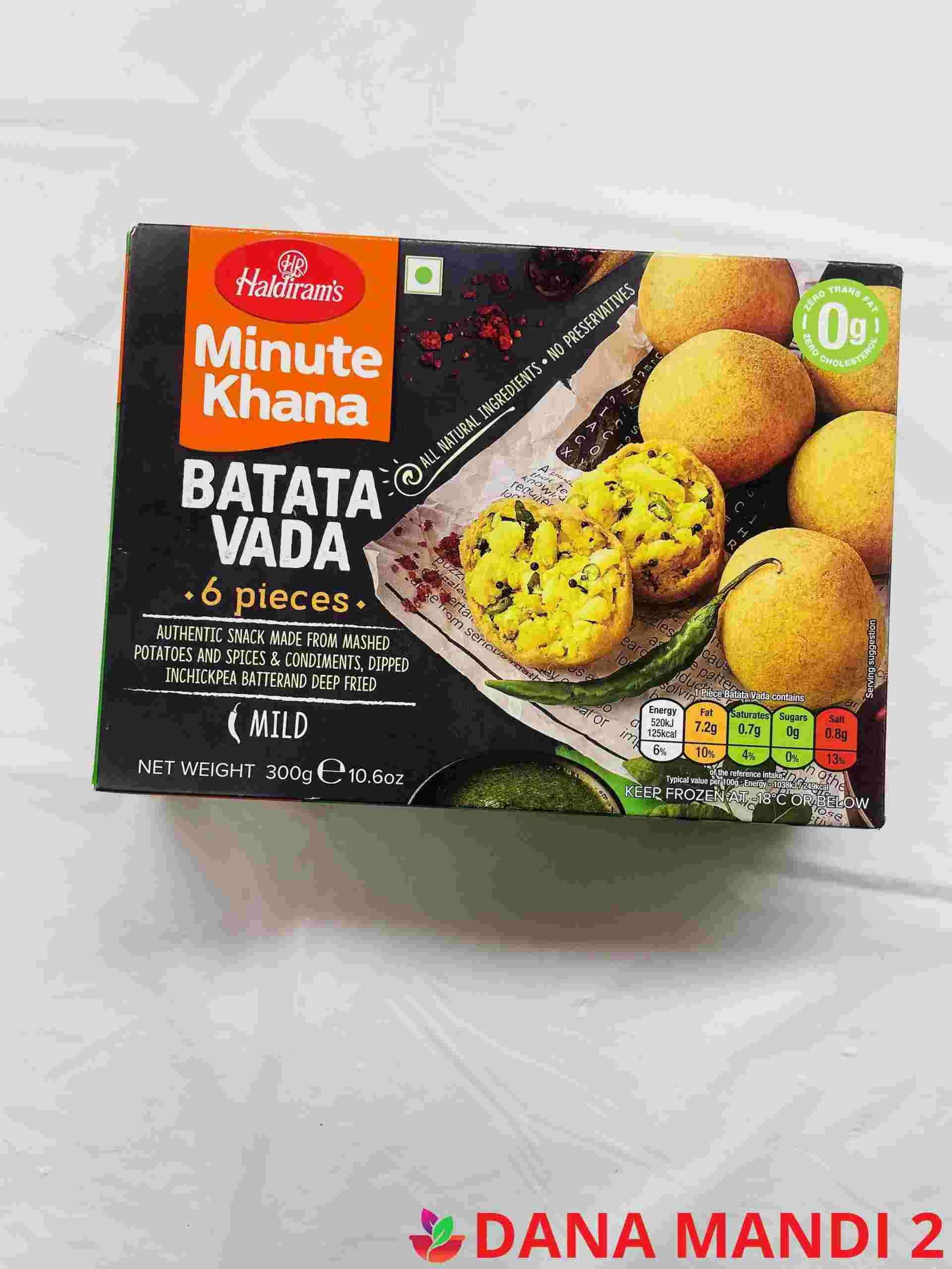 Haldiram's Batata Vada 6 Pieces